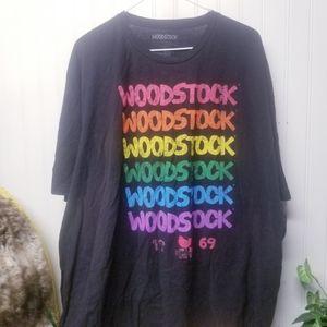 Woodstock 1969 Repeat Mens 3X T-Shirt
